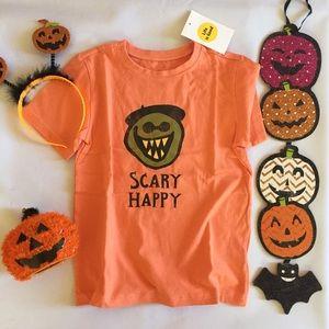 Life Is Good Girl's Halloween T-shirt
